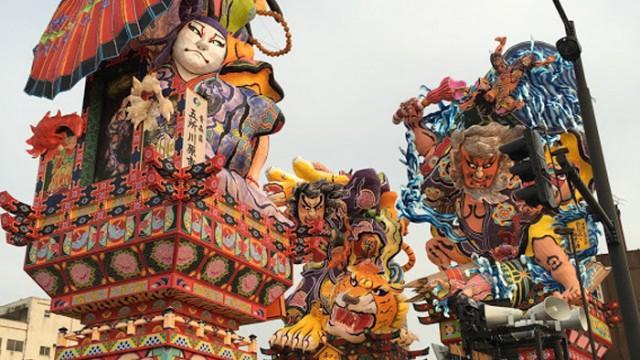 暑い夏!を彩るクオリティ抜群の立佞武多パフェ!
