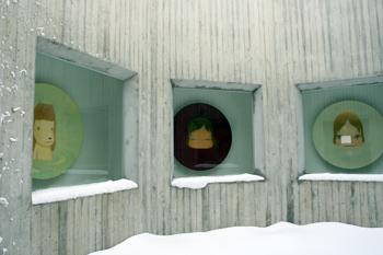 クリスマスな県立美術館