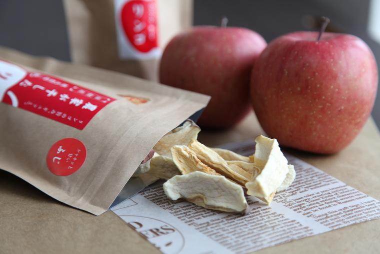 りんご感に感動!農家が干したリンゴ