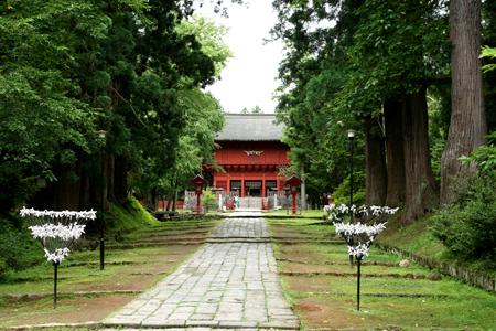 岩木山神社のチリンチリン