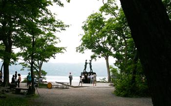 十和田湖 休屋で新しいツーリズム