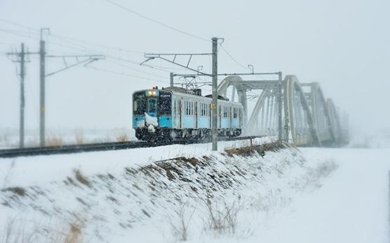 酒のあで雪見列車