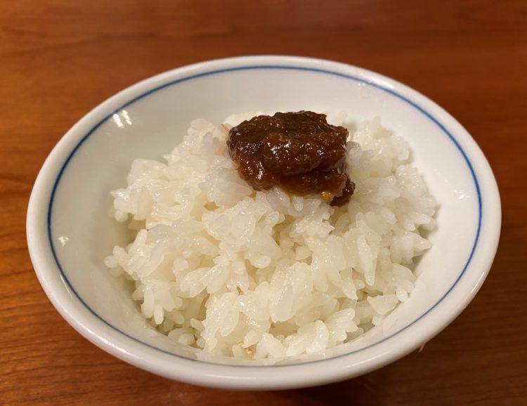 りんごde食卓(りんご南蛮味噌)