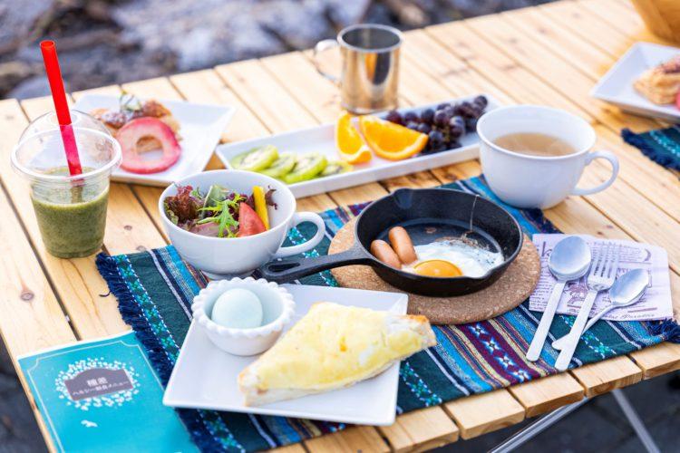 さわやかで健康的な朝食