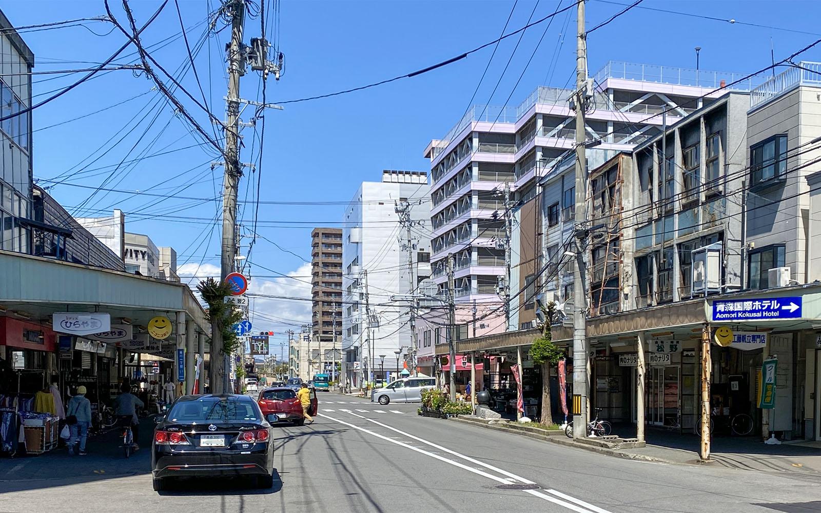 青森市_ニコニコ通り