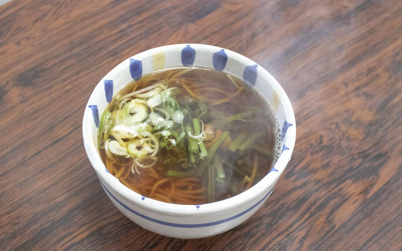 大谷製麺工場直売所_山菜雲谷そば